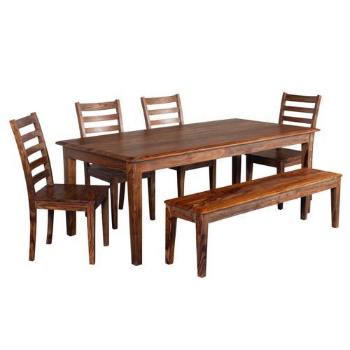 Porter International Designs - Sonora Harvest Dining Table, Bench & Chairs, ART-801-HRU