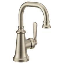 Colinet Brushed nickel one-handle high arc bathroom faucet