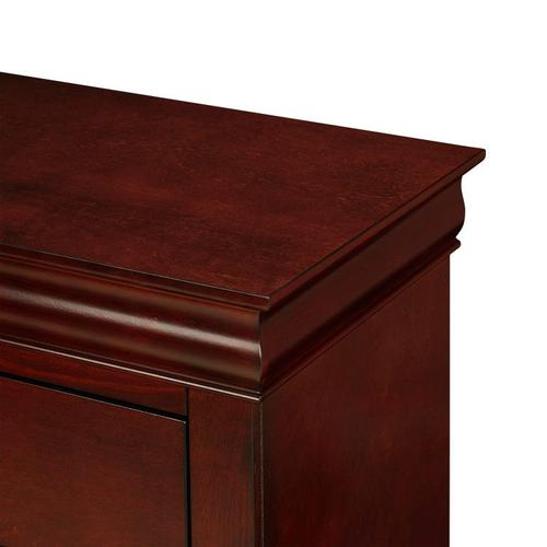 Lewiston Nightstand, Cherry Brown