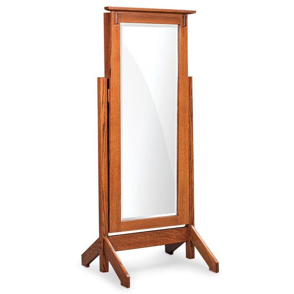 See Details - McCoy Jewelry Cheval Mirror