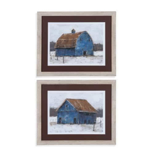 Blue Barn 2 pc