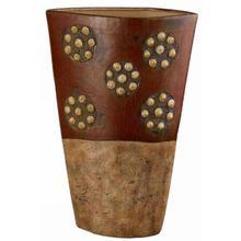 See Details - Roseville ceramic vase