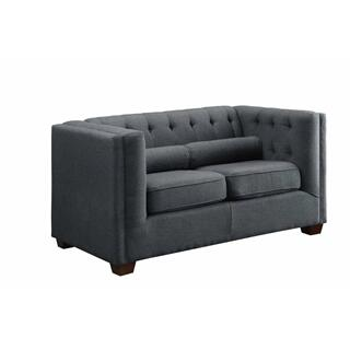 Cairns Loveseat Black