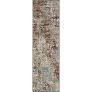 "Meraki Apex Ginger 2' 4""x7' 10"" Runner"