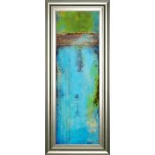 """""""Fisher Island I"""" By Erin Ashley Framed Print Wall Art"""