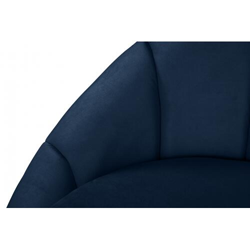 "Shelly Velvet Chaise - 79"" W x 40"" D x 33"" H"