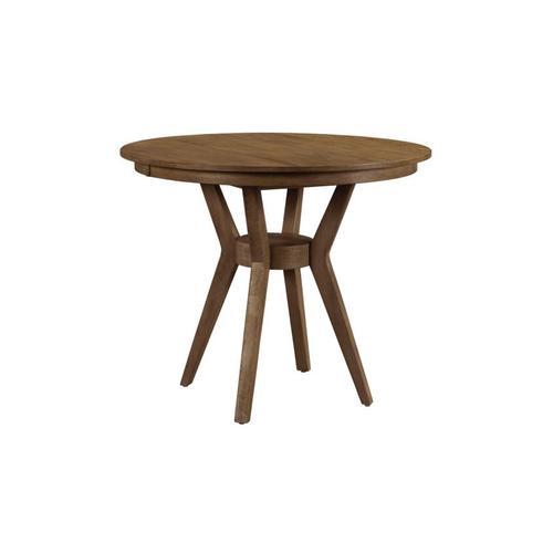 """54"""" Round Counter Height Dining Table Complete"""