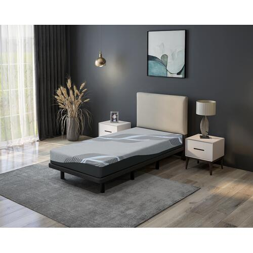 "Emerald Home Furnishings - 8"" Twin XL Mattress"