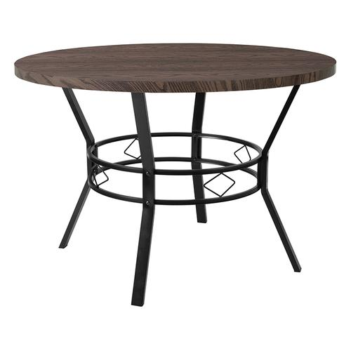 "Tremont 45"" Round Dining Table in Espresso Wood Finish"