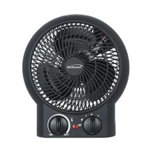 View Product - Brentwood H-F304BK 1500-Watt Portable Electric Space Heater and Fan, Black
