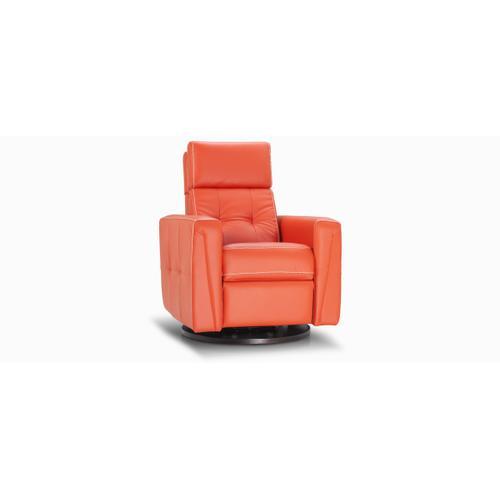 Jaymar - Sydney Swivel and rocking motion chair (043; Wood base - Tea T37)