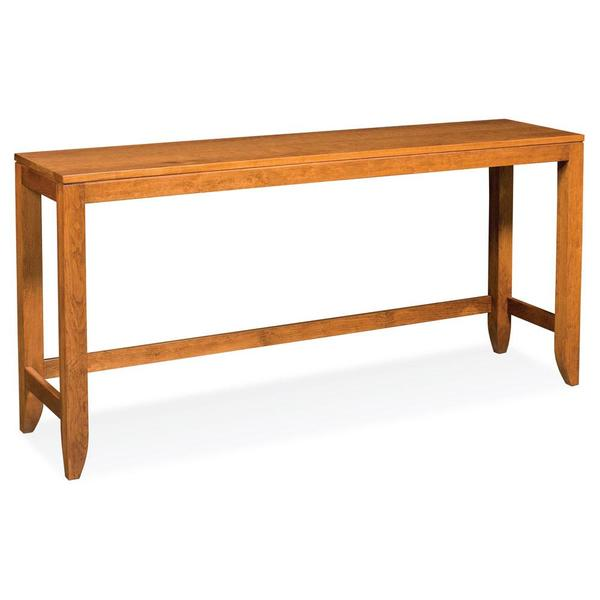 """See Details - Justine Console Bar Table, 72"""""""