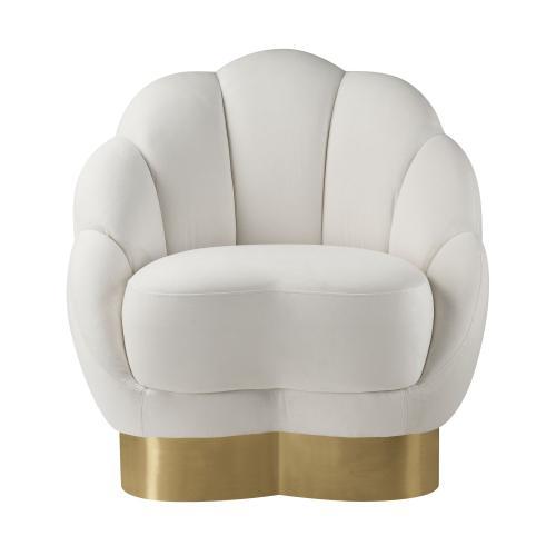 Product Image - Bloom Cream Velvet Chair