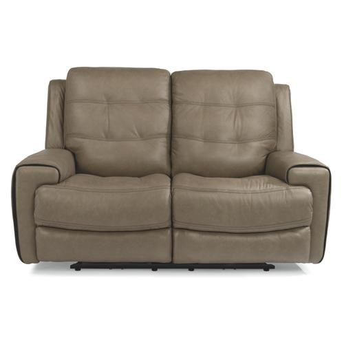 Gallery - Wicklow Power Reclining Loveseat with Power Headrests