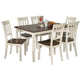 Whitesburg Dining Table and 6 Chairs