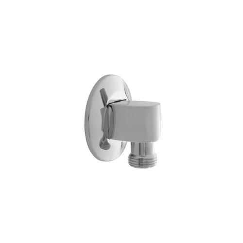 Matte Black - 90° Water Supply Elbow with Escutcheon- No Pinmount