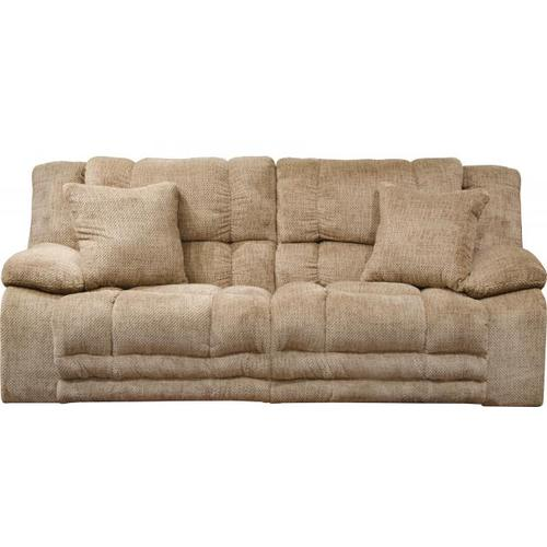 Gallery - Branson Power Lay Flat Reclining Console Loveseat w/Extended Ottoman