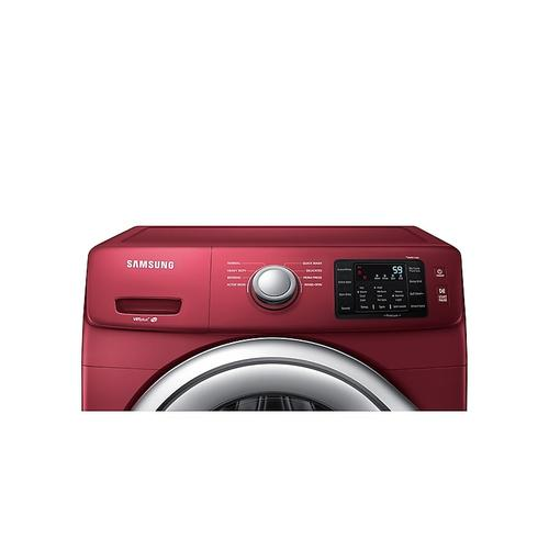 Samsung - 4.5 cu. ft. Front Load Washer with Vibration Reduction Technology in Merlot