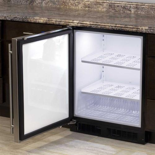 24-In Low Profile Built-In All Refrigerator with Door Swing - Left