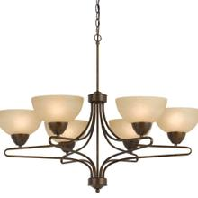 60W X 6 Romano 6 Light Chandelier