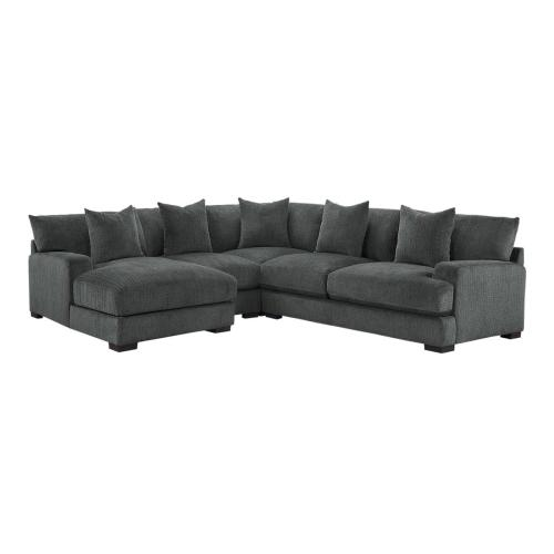 4-Piece Modular Sectional with Left Chaise