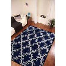 """Durable Hand Tufted Transition TF34 Area Rug by Rug Factory Plus - 7'6"""" x 10'3"""" / Multi Blue"""