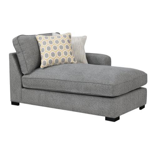 Emerald Home Rsf Chaise W/ 2 Pillows U4174-12-33b