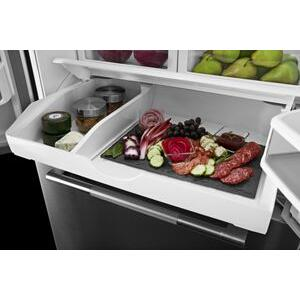 "JennAir - RISE 36"" French Door Freestanding Refrigerator"