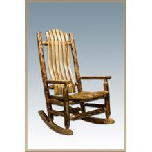 Glacier Country Log Rocking Chair