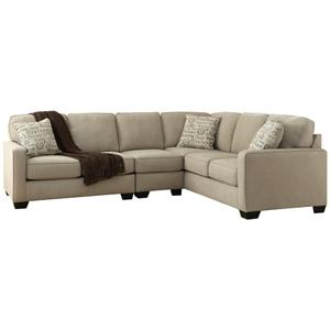 Ashley - 3-piece Sectional With Ottoman
