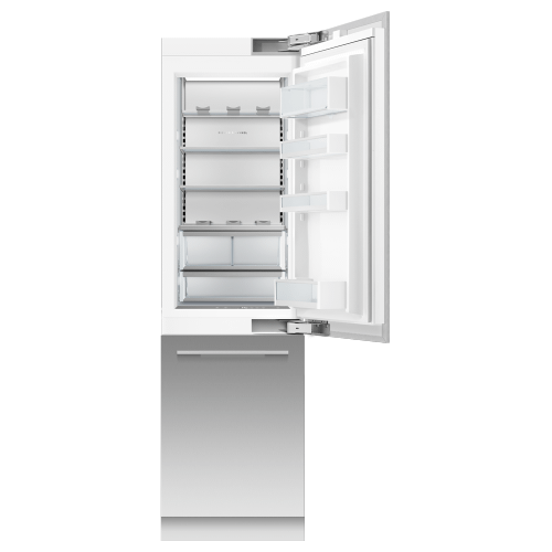 """Fisher & Paykel - Integrated Refrigerator Freezer, 24"""", Ice & Water"""