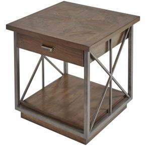 Vintage Salvage Burton End Table