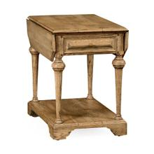 Elizabethan pembroke natural oak table