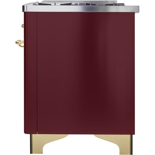 "36"" Inch Burgundy Liquid Propane Freestanding Range"
