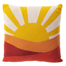 See Details - Sunset Knit Pillow