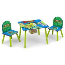 Teenage Mutant Ninja Turtles Table & Chair Set with Storage - Ninja Turtles (1117)