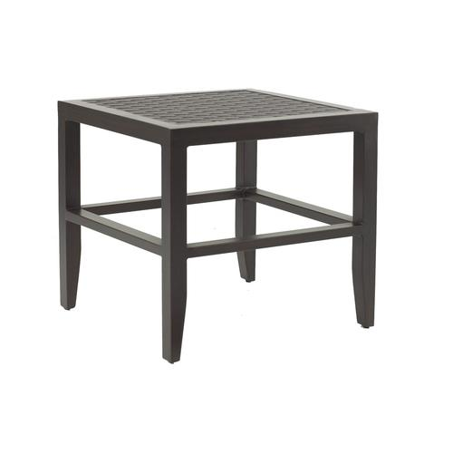 """Castelle - 23.5"""" Classical Square Side Table"""