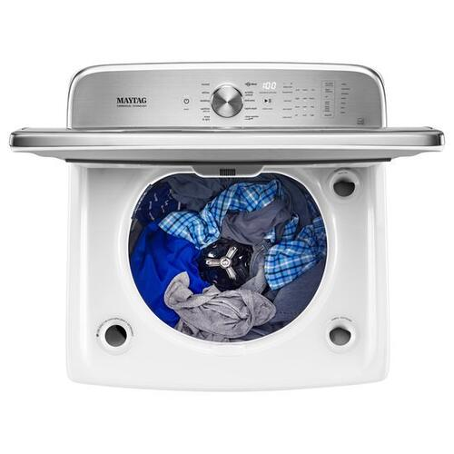 """Gallery - Maytag® Top Load Washer with the PowerWash® System """" 6.2 cu. ft. - White"""