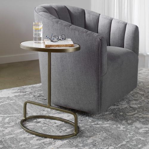 Jessenia Accent Table, Marble