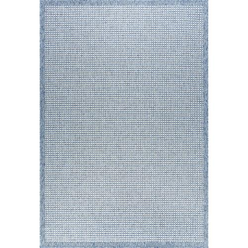 Denver - DEN1002 Blue Rug