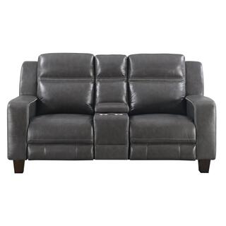 Beckett Power Motion Console Loveseat
