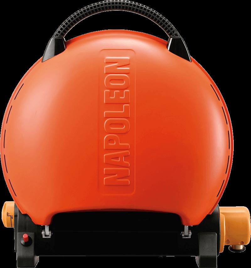 Napoleon BBQTravelq 2225 Portable Gas Grill , Orange , Propane