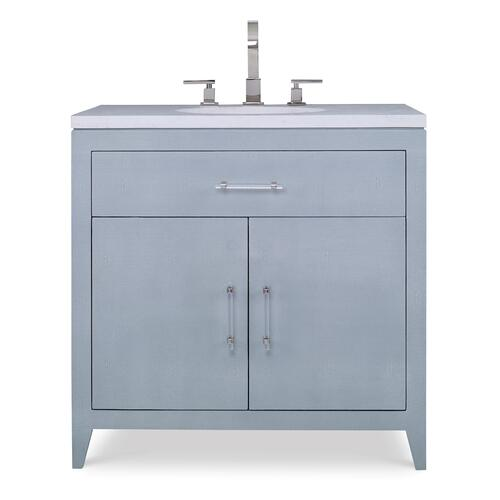 Shagreen Sink Chest - Polar Blue