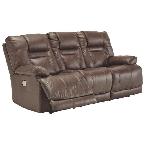 POWER SOFA WITH ADJUSTABLE HEADREST AND LUMBAR