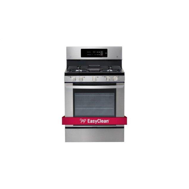 LG Appliances 5.4 cu. ft. Single Oven Gas Range with EasyClean®