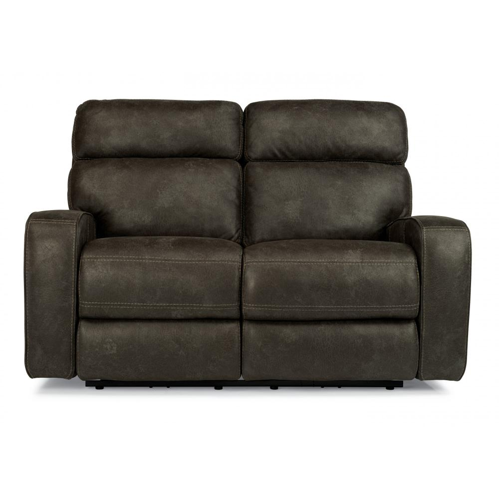 Tomkins Park Power Reclining Loveseat with Power Headrests