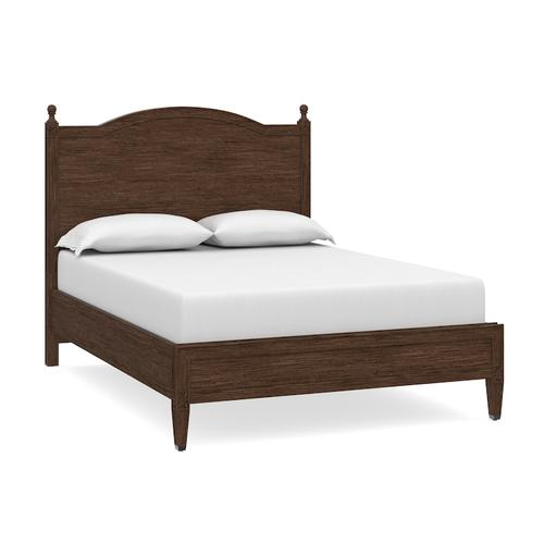 Charlotte King Panel Bed, Footboard Low