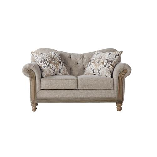 Hughes Furniture - 8725 Loveseat