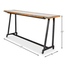 Metz Marble Top Console Table