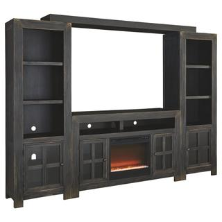 See Details - Gavelston Entertainment System With Fireplace Insert